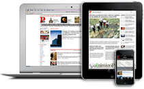 Público na web, iPhone e iPad