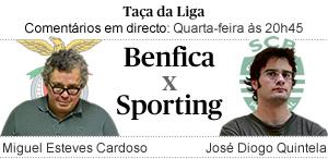 Benfica-Sporting, relato em directo