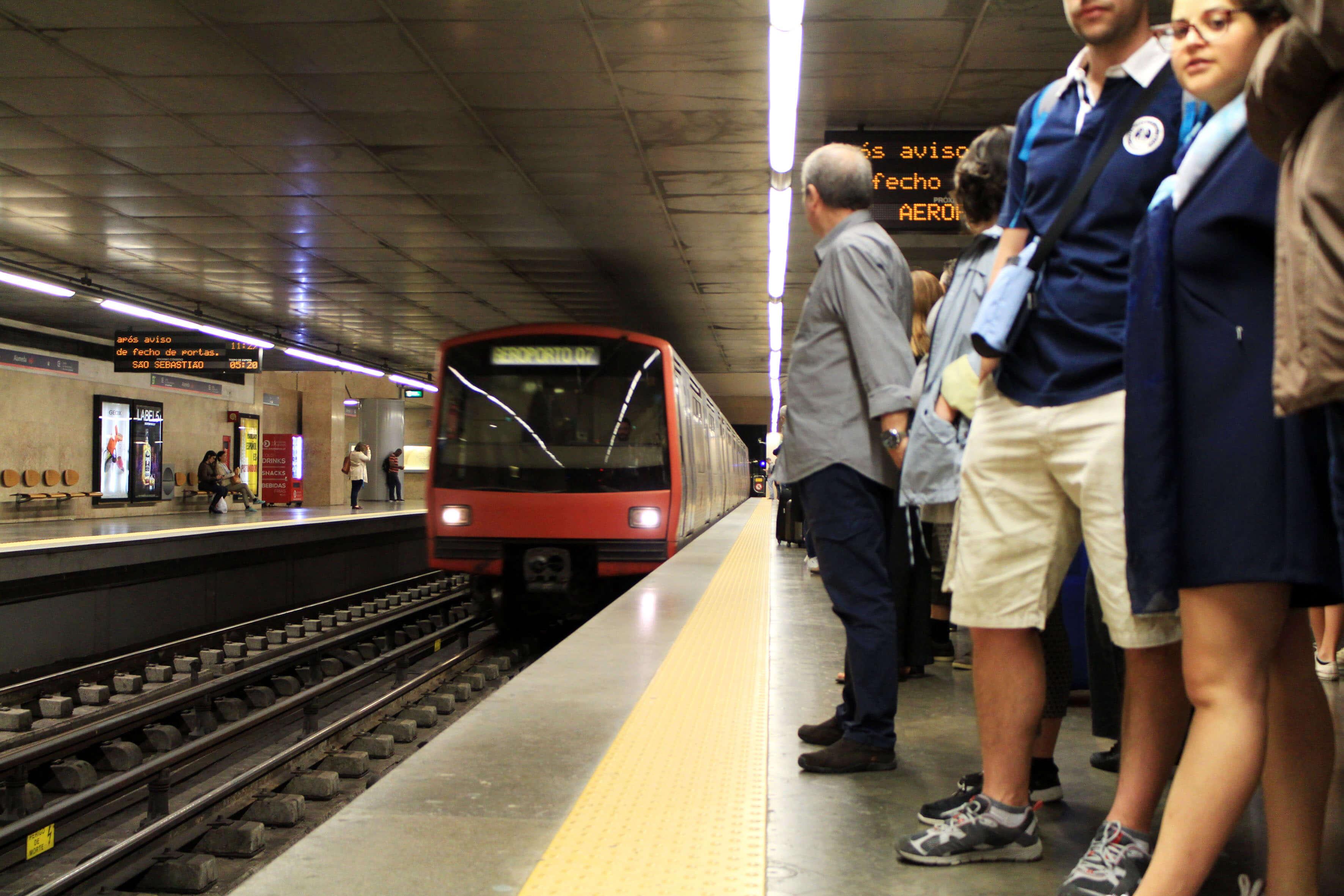Estação do Metro da Alameda