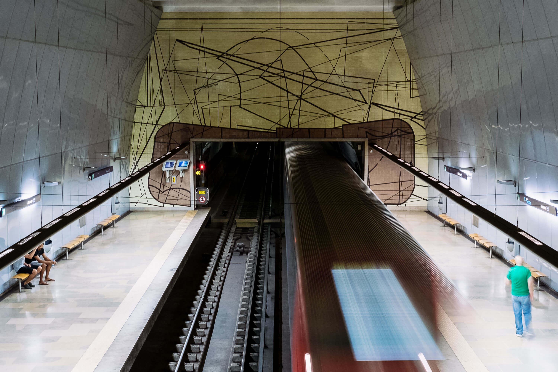 Estação do Metro de Alfornelos