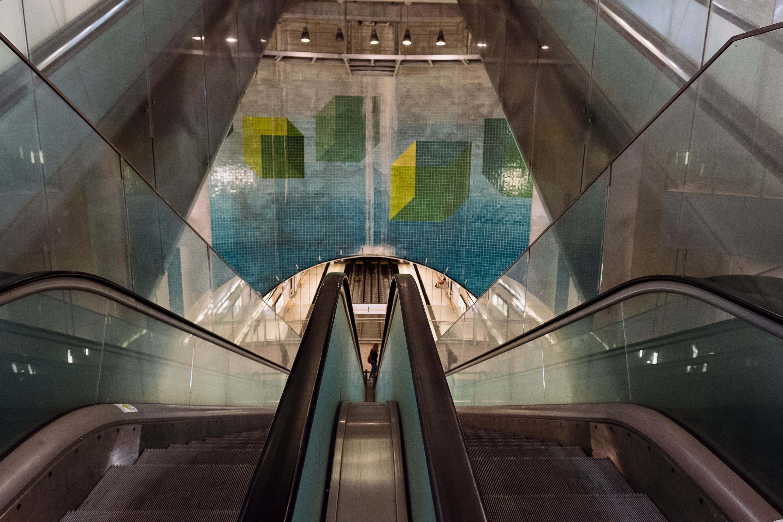 Estação do Metro da Ameixoiera