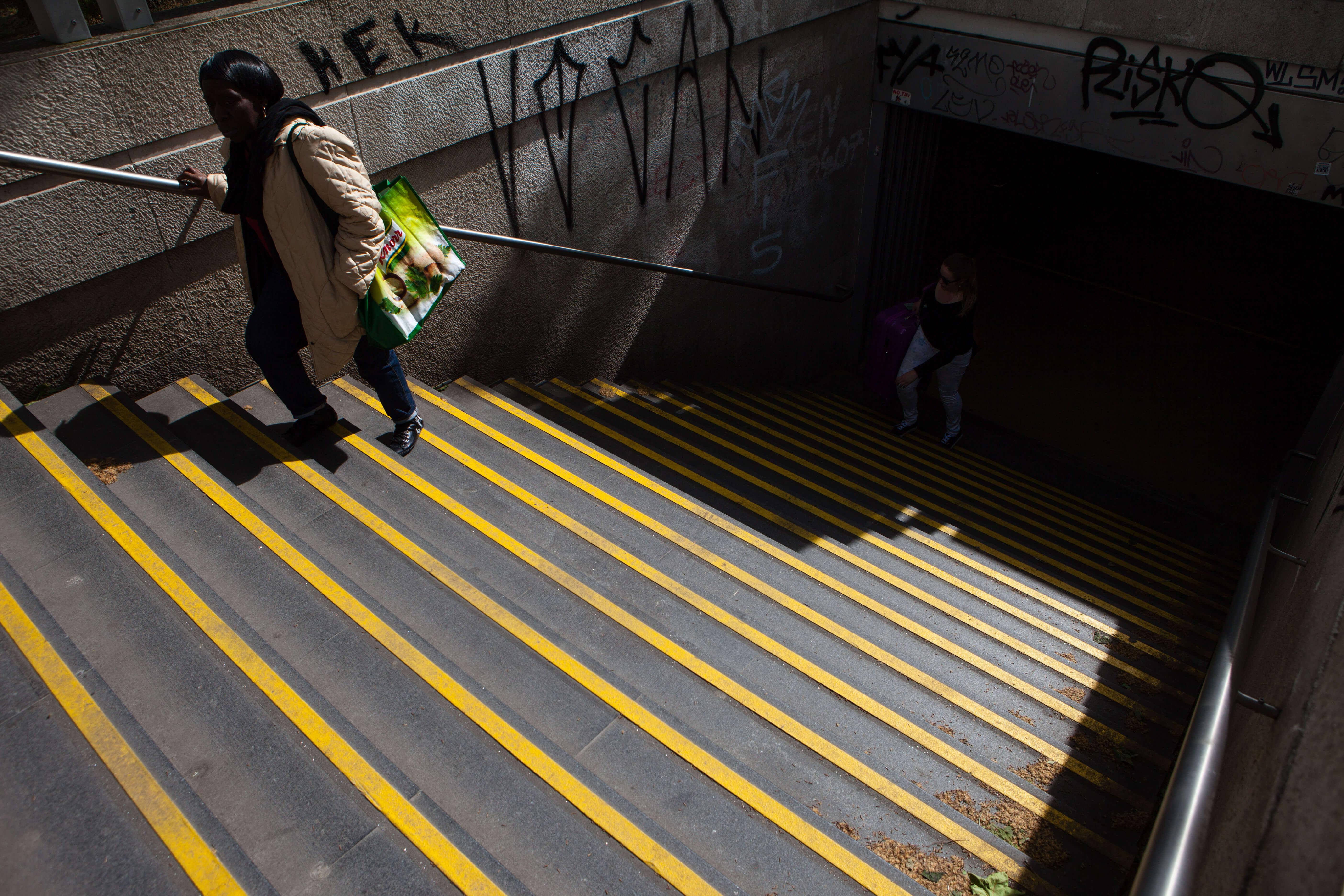 Estação do Metro dos Anjos