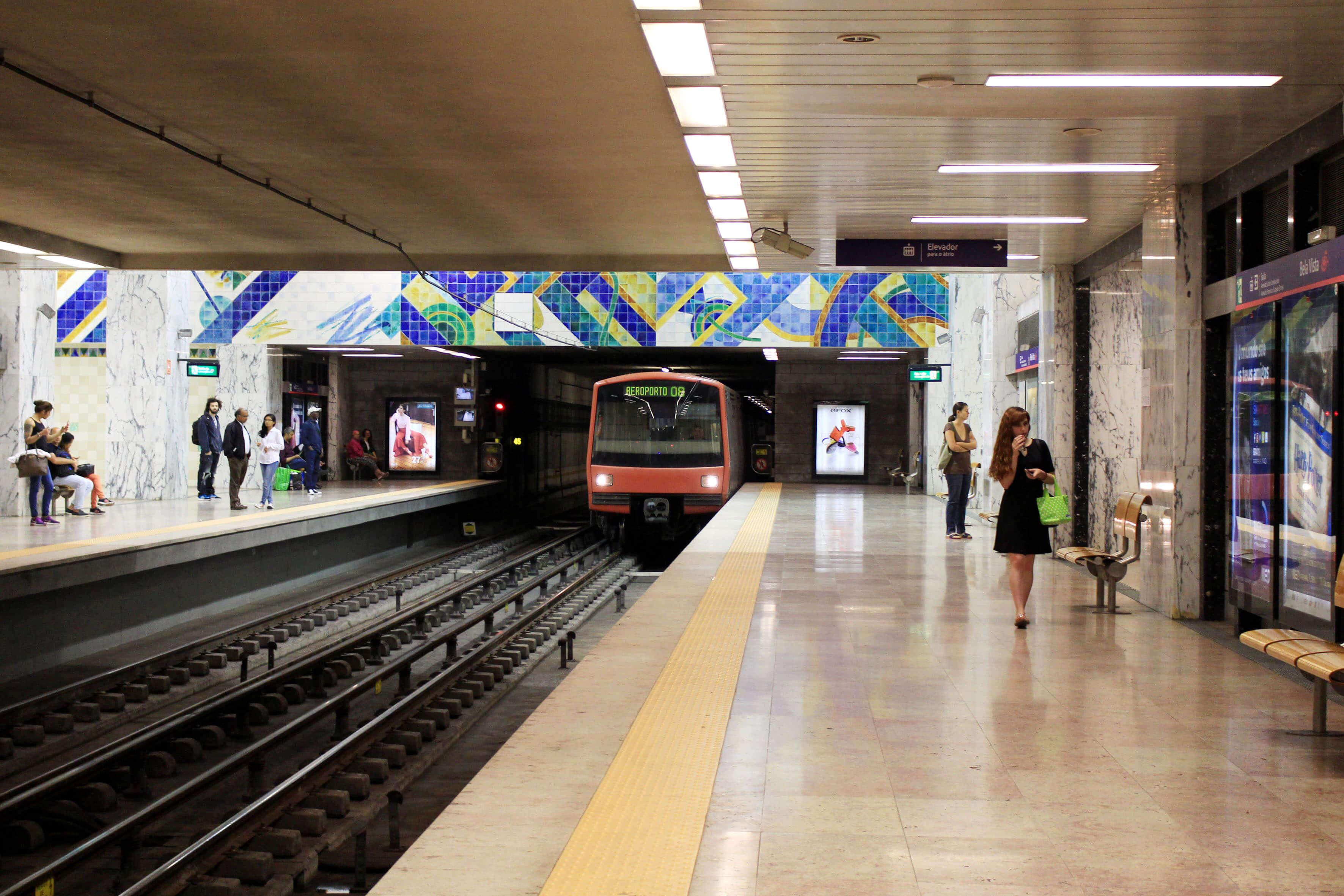 Estação do Metro da Bela Vista