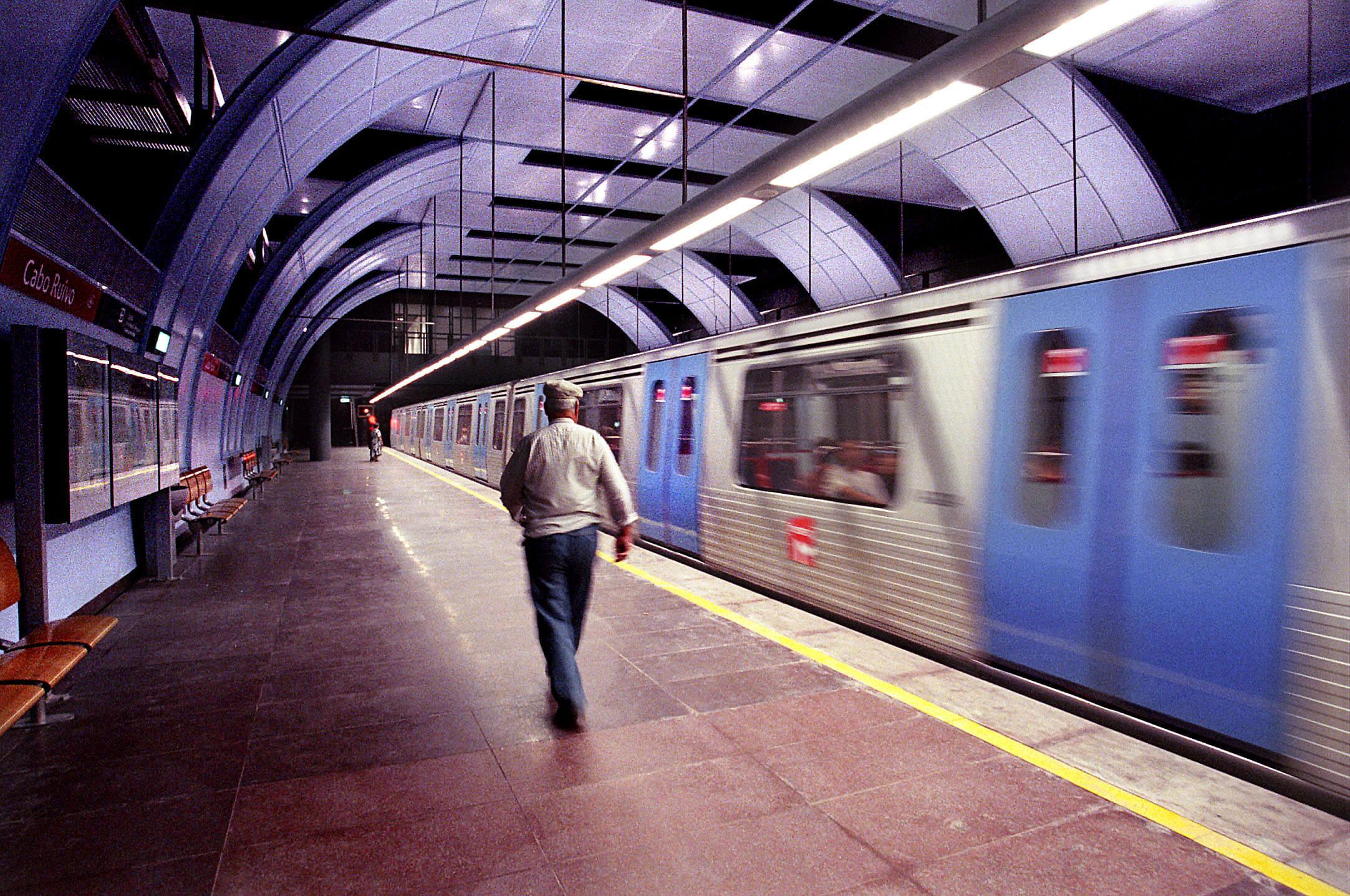 Estação do Metro de Cabo Ruivo