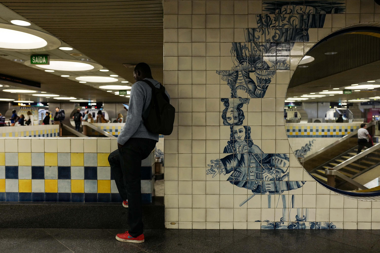 Estação do Metro do Campo Grande