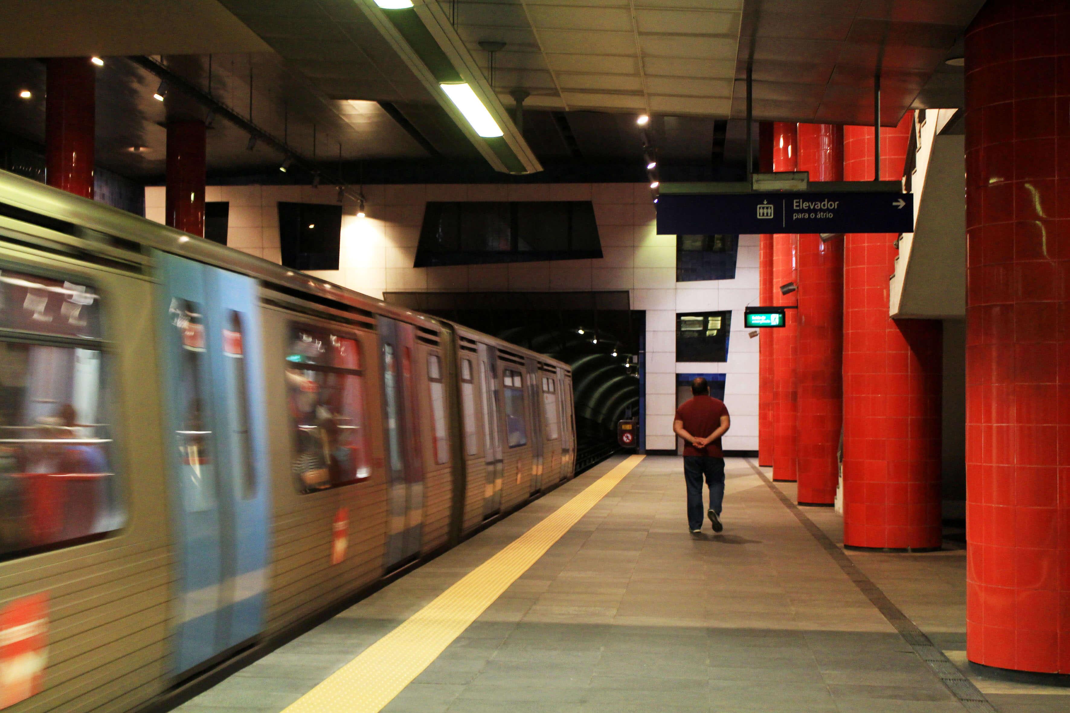 Estação do Metro de Chelas