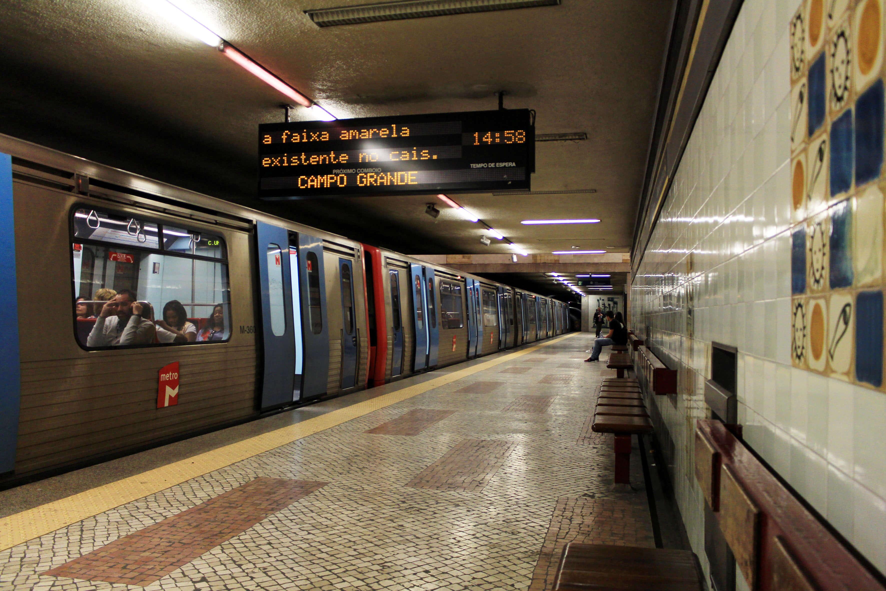 Estação do Metro da Cidade Universitária