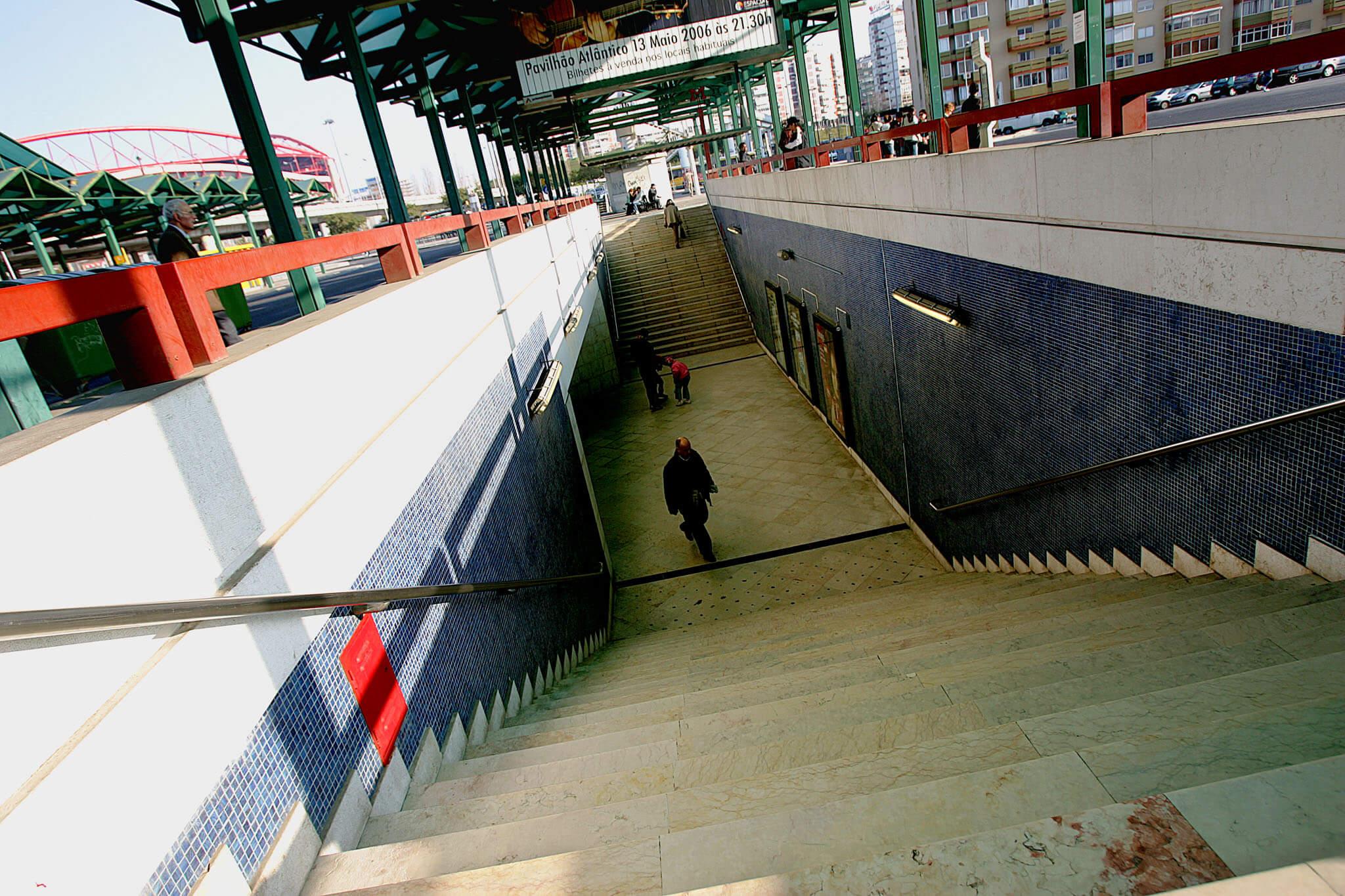 Estação do Metro do Colégio Militar/Luz
