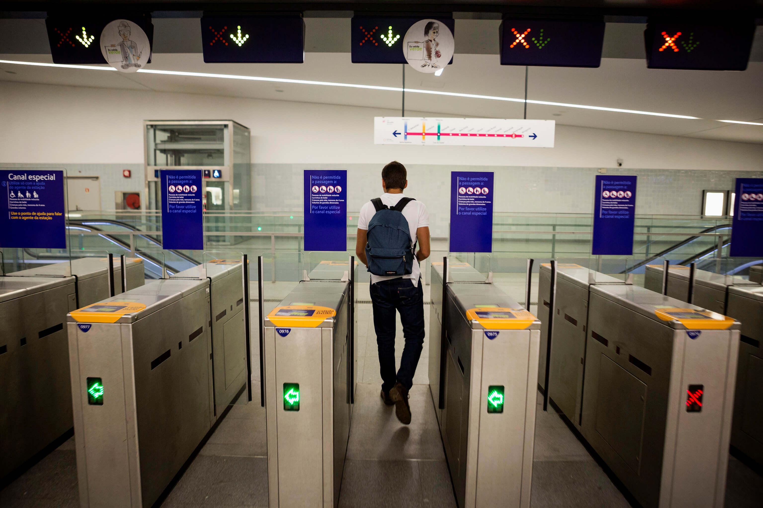 Estação do Metro da Encarnação