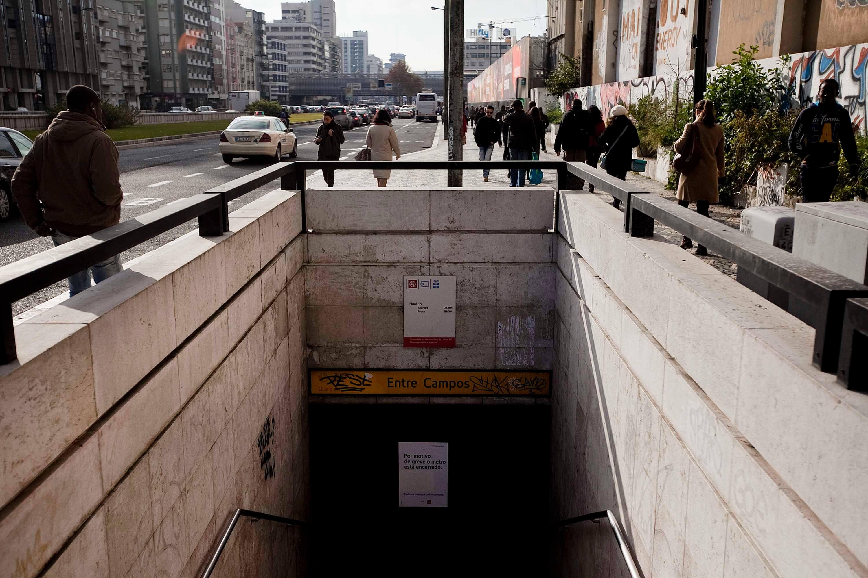 Estação do Metro de Entrecampos