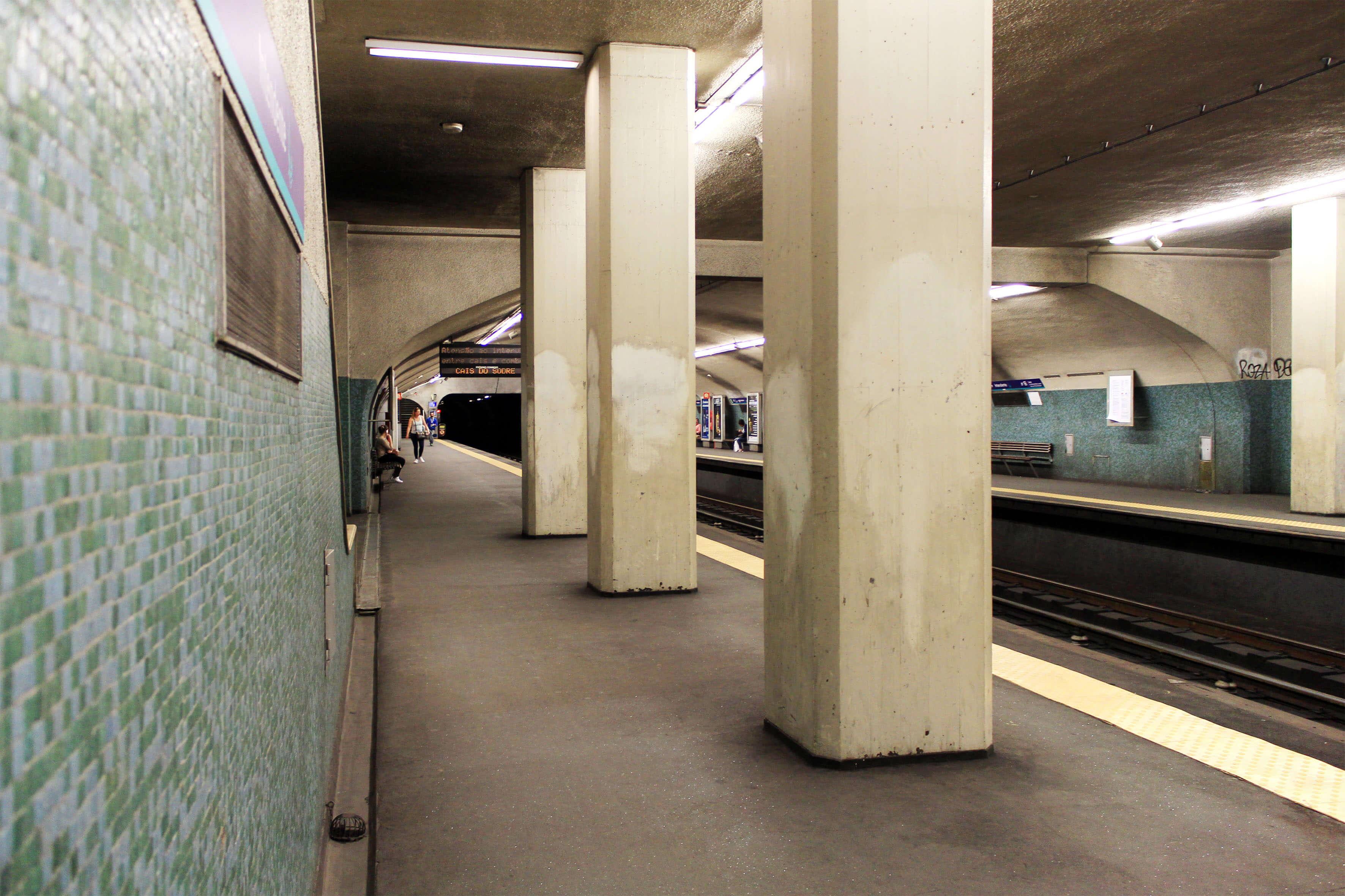 Estação do Metro do Intendente