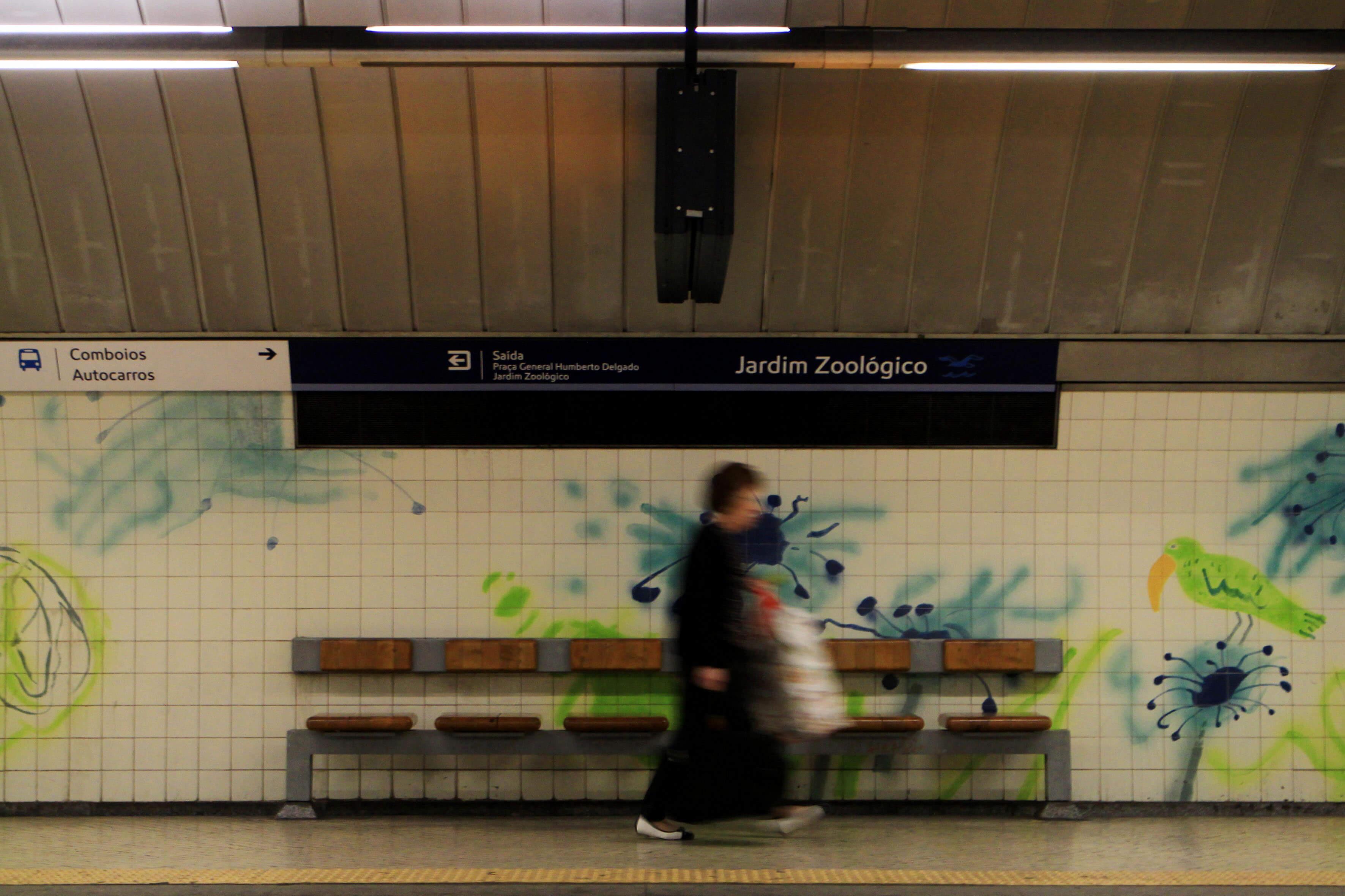 Estação do Metro do Jardim Zoológico