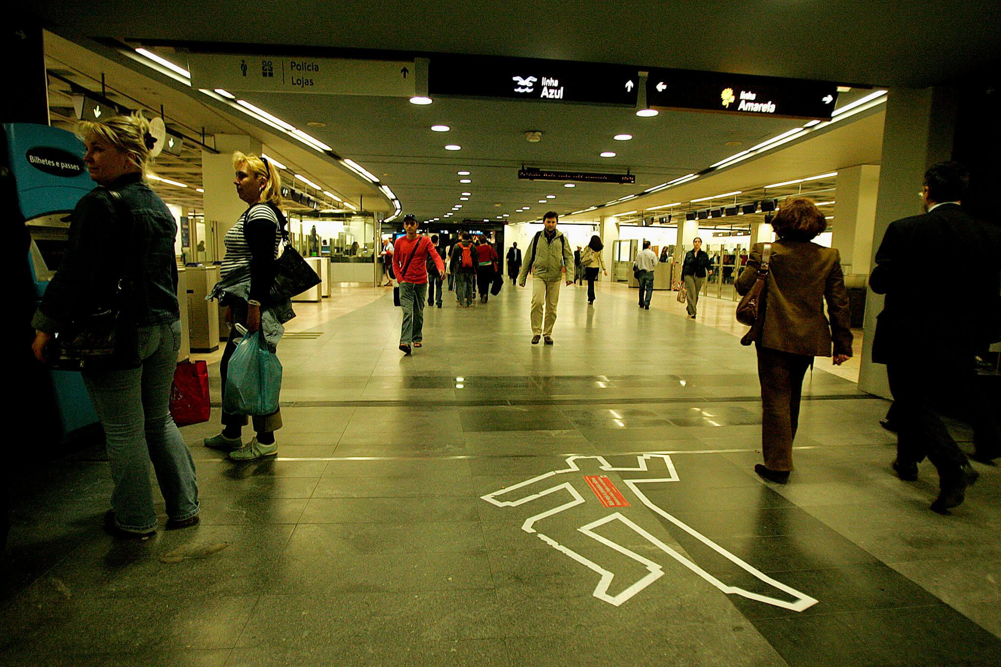 Estação do Metro do Marquês de Pombal