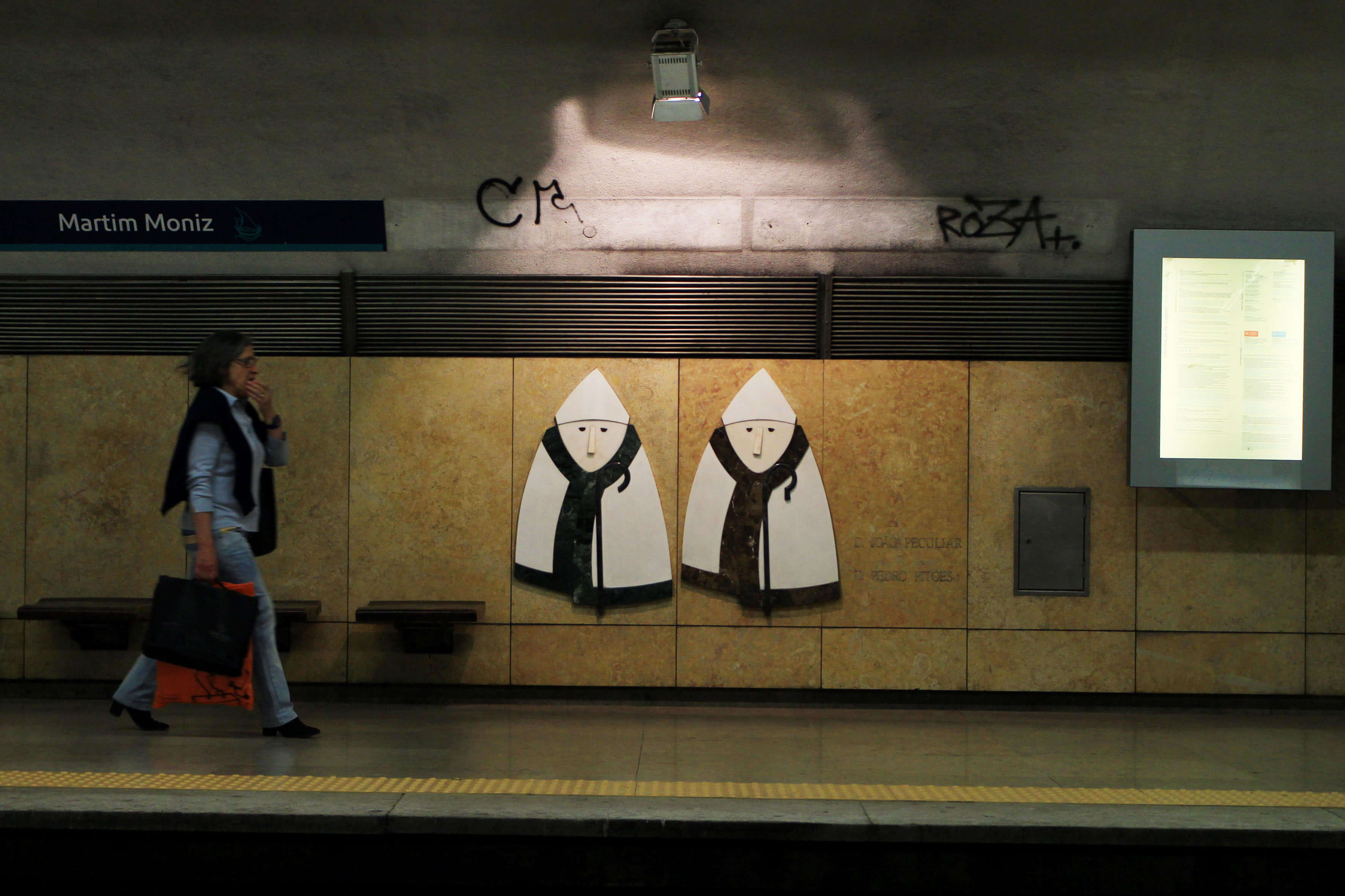 Estação do Metro do Martim Moniz