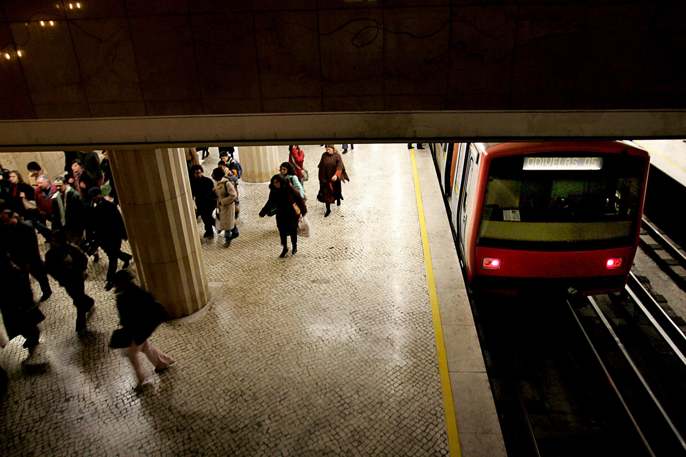 Estação do Metro de Odivelas