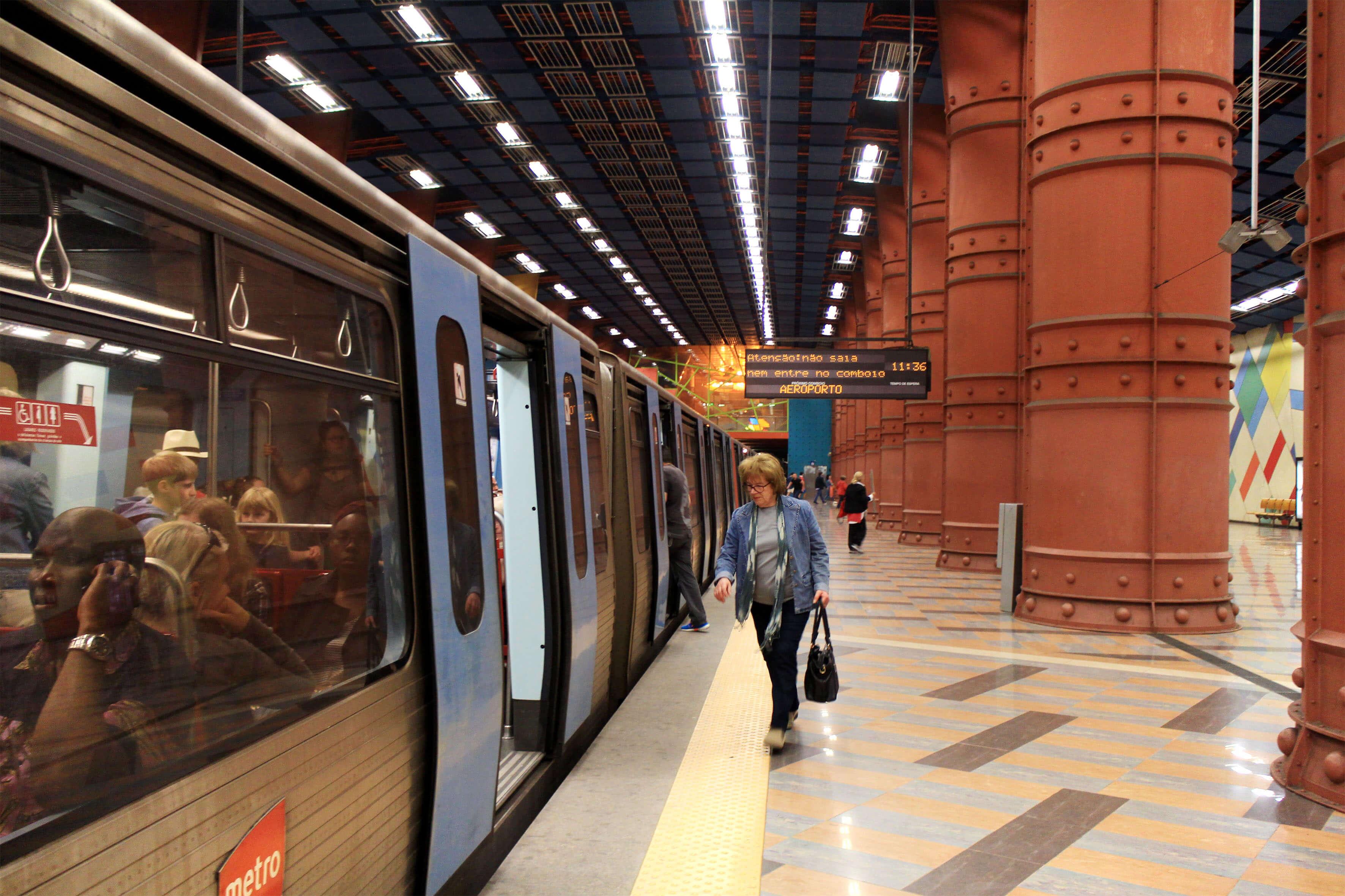 Estação do Metro das Olaias