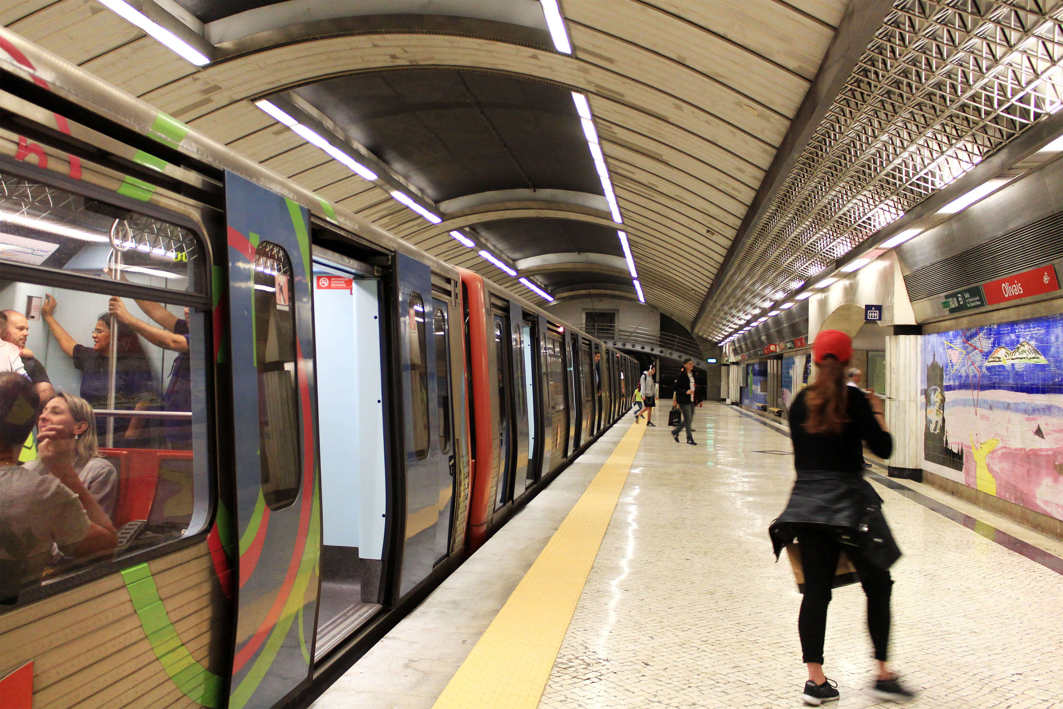 Estação do Metro dos Olivais