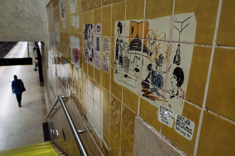 Estação do Metro da Quinta das Conchas