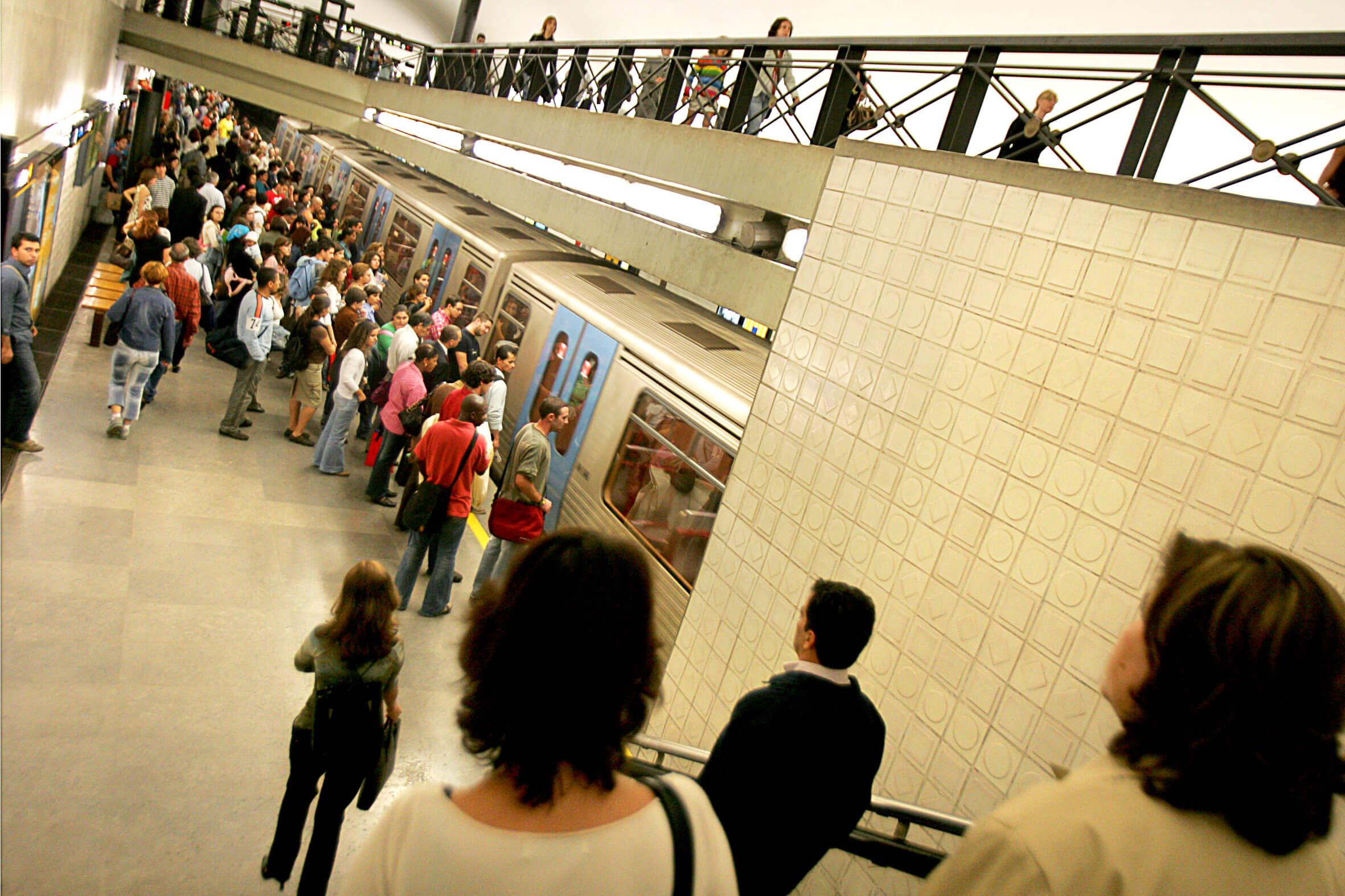 Estação do Metro do Rato