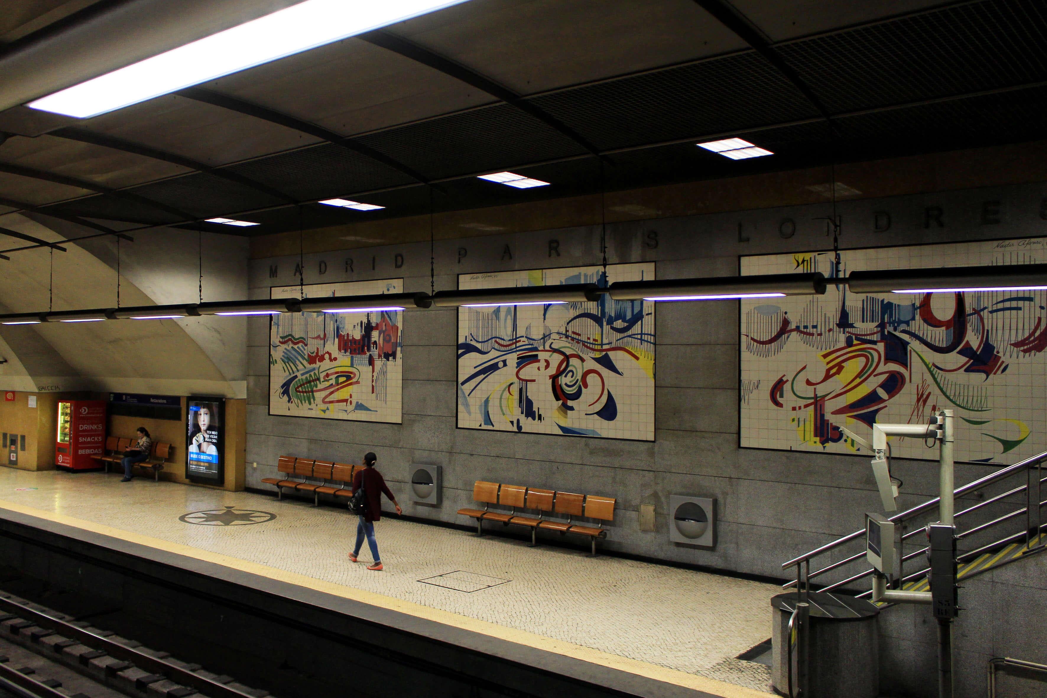 Estação do Metro dos Restauradores