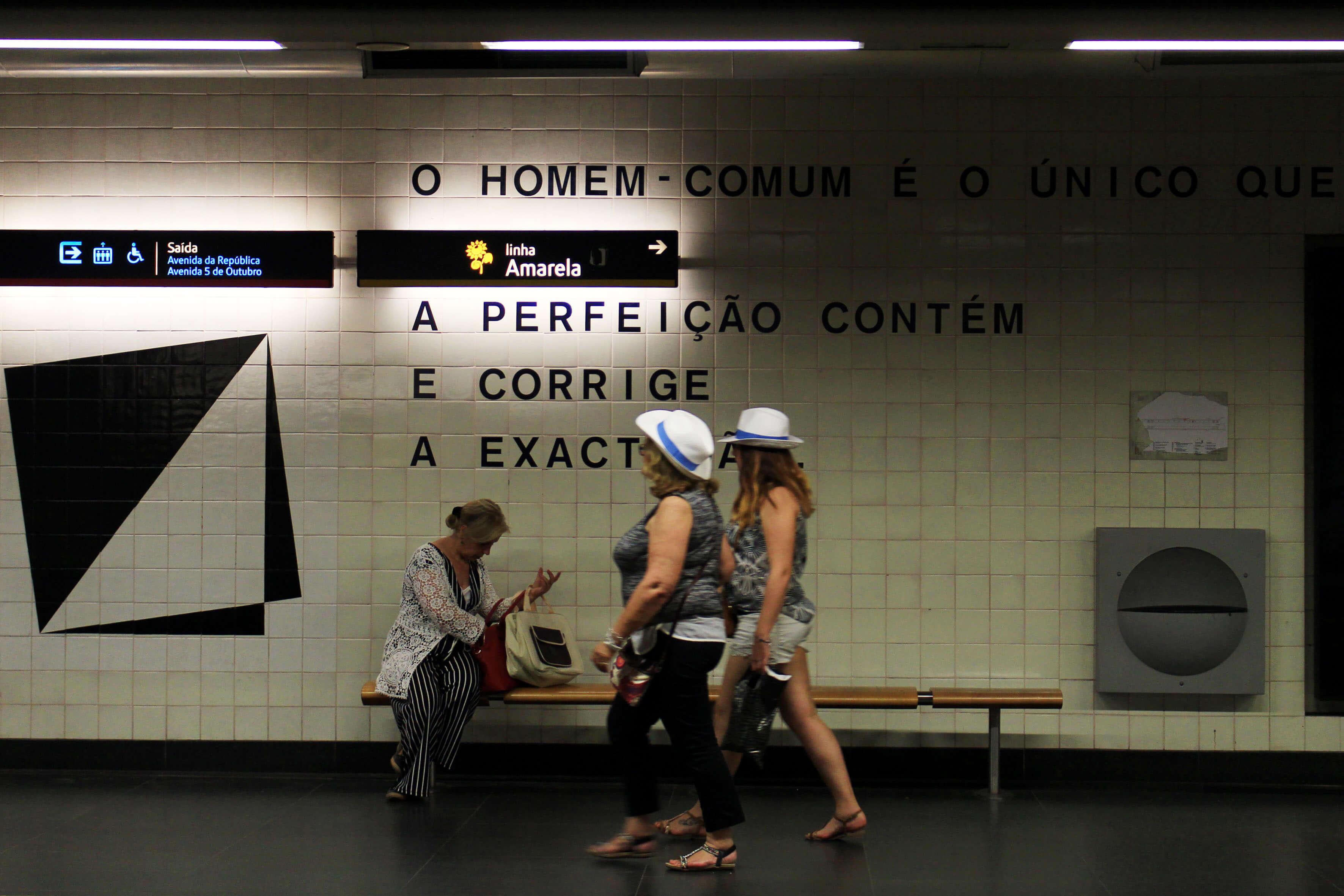 Estação do Metro do Saldanha