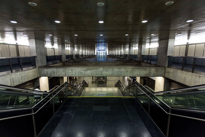 Estação do Metro do Terreiro do Paço
