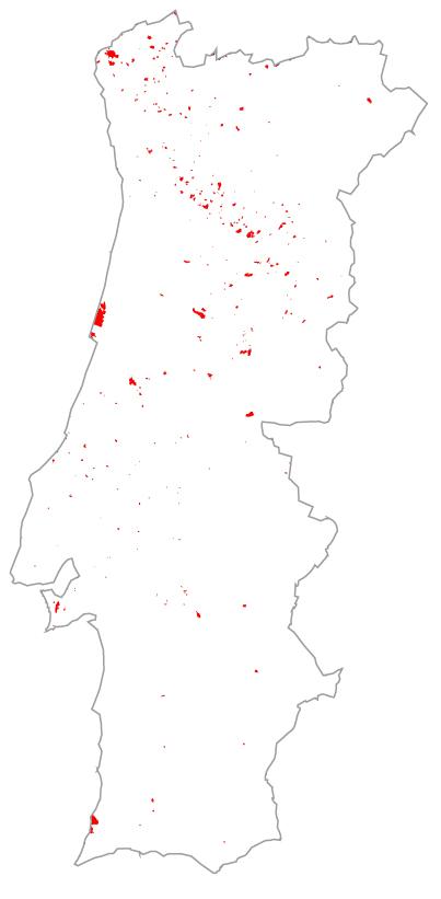 Área ardida em 1993