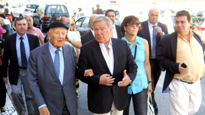 Basílio Horta e Mário Soares