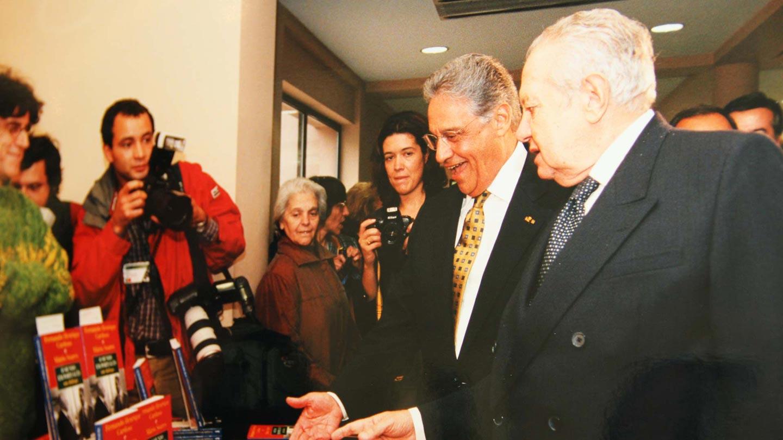 Fernando Henrique Cardoso e Mário Soares