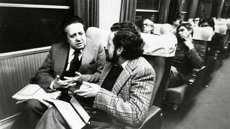 José Carlos Vasconcelos e Mário Soares
