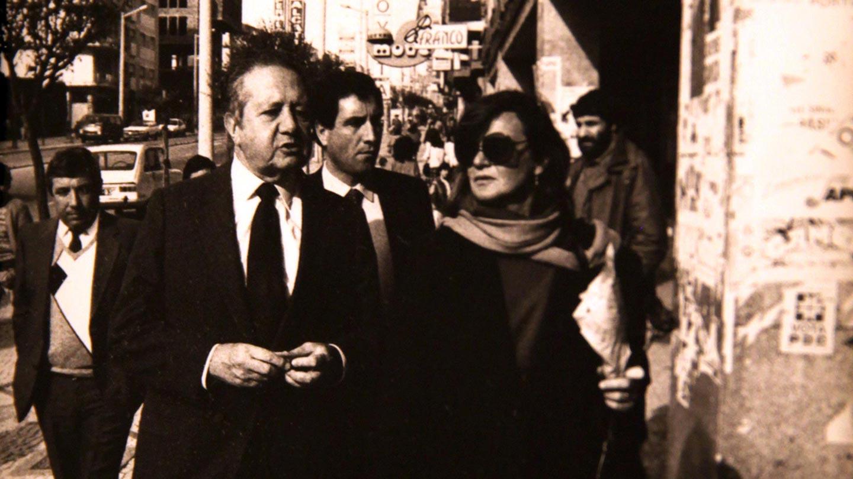 Maria João Avillez e Mário Soares